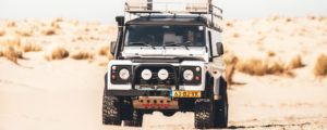 mobile tyre company land rover defender
